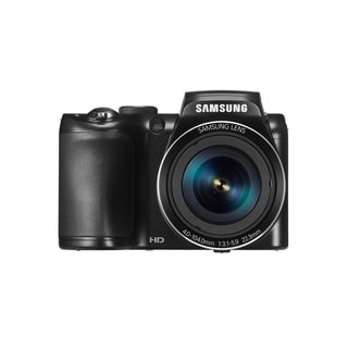 Samsung WB110 20.2MP Black Digital Camera