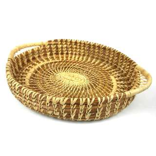 Handmade Pine Needle Chocolate Basket (Guatemala)