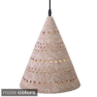 1-light Pixel Funnel Pendant Light (Mexico)