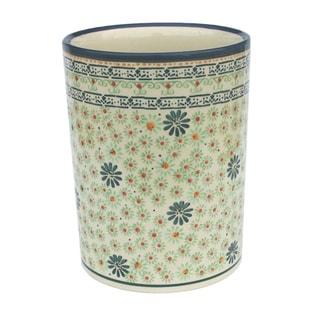 Handcrafted Stoneware Utensil Jar (Poland)