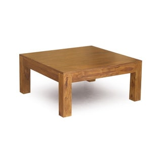 Handcrafted Cube Low Square Table (India)