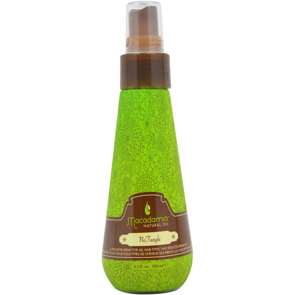 Macadamia Oil Natural Oil 3.3-ounce No Tangle Pre-Styler
