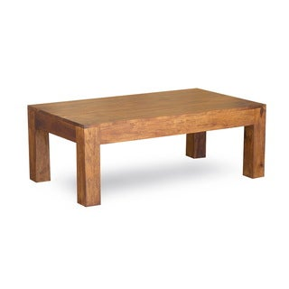 Timbergirl Handcrafted Cube Coffee Table (India)