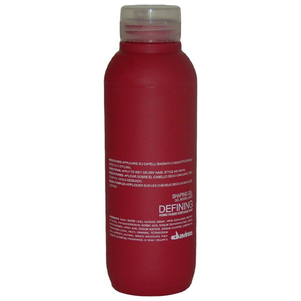 Davines Defining System 8.45-ounce Shaping Gel