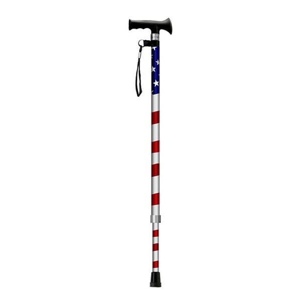 Main Cane American Pride Designer Adjustable Derby Cane