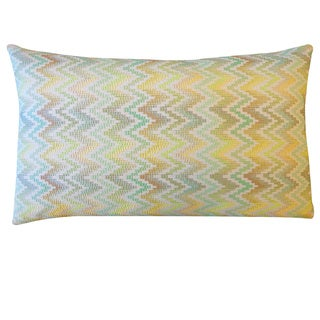 Silver Luxe Throw Pillow