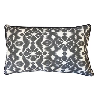 Black Trevol Throw Pillow