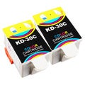 Sophia Global Compatible Ink Cartridge Replacement for Kodak 30 Color (Pack of 2)
