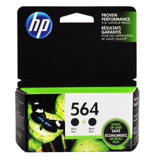 HP 564 Black Ink Cartridges (Pack of 2)