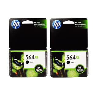 HP 564XL Black Ink Cartridges (Pack of 2)