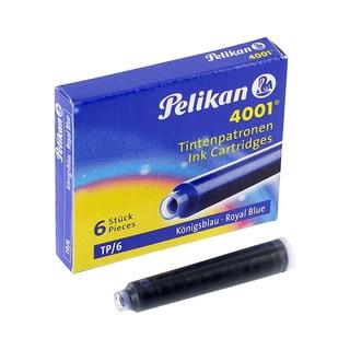 Pelikan Royal Blue Ink Fountain Pen Cartridges ( Pack of 6)