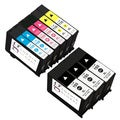 Sophia Global Remanufactured Black Cyan Magenta Yellow Ink Cartridge Replacements (Pack of 9)