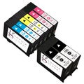 Sophia Global Remanufactured Black Yellow Cyan Magenta Ink Cartridge Replacements (Pack of 8)