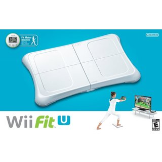 Wii U - Wii Fit U with Wii Balance Board accessory and Fit Meter
