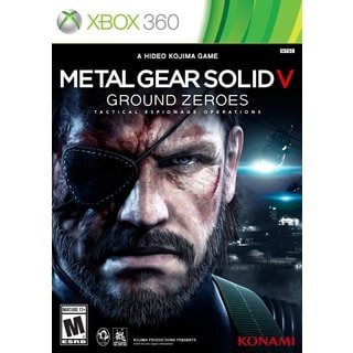 Xbox 360 - Metal Gear Solid V: Ground Zeroes