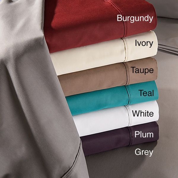 Luxor Treasures Cotton Blend 800 Thread Count Wrinkle-resistant Sheet Set