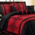 Catherine Flocking 7-piece Comforter Set