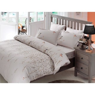 Brielle Bamboo Twill Eden 3-piece Duvet Cover Set with Giftable Box
