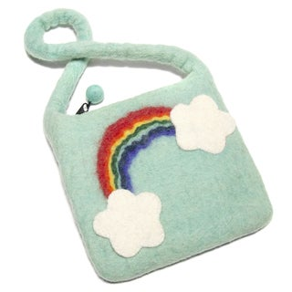 Felted Wool Children's Rainbow Bag (Nepal)