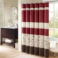 Madison Park Belle Embroidered 3-Colors Shower Curtain