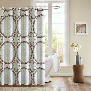 Mizone Victoria Microfiber Shower Curtain