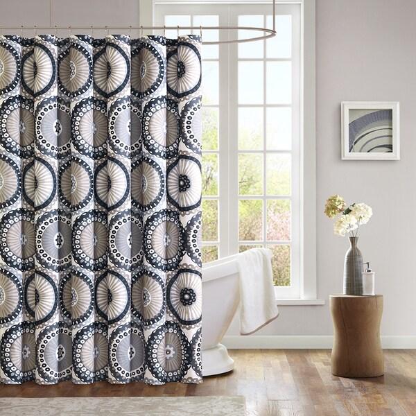 Mi Zone Sheba Microfiber Shower Curtain