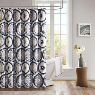Mi Zone Sheba Microfiber Shower Curtain