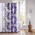 Mizone Sydney Microfiber Shower Curtain