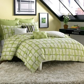 Pinwheel 3-piece Duvet Cover Set and Optional Euro Sham