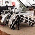 Half Moon 3-piece Duvet Cover Set with Optional Euro Sham