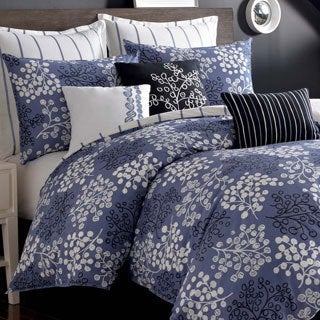 Pom Pom 3-piece Duvet Cover Set with Optional Euro Sham
