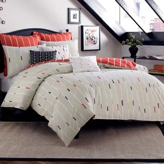Bugle 3-piece Duvet Cover Set with Optional Euro Sham