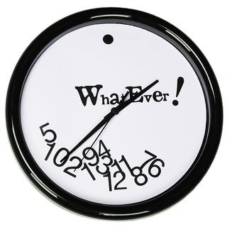 'Whatever' Clock