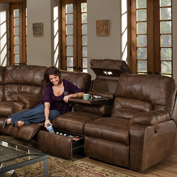 Dakota Motion Reclining Sofa Overstock Shopping Great