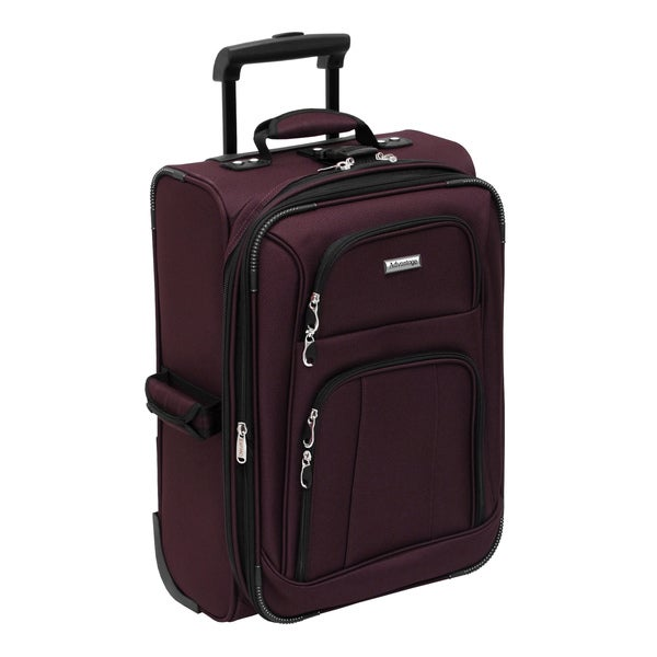 Advantage Lightweights Collection Merlot 21-inch Carry On Rolling Upright