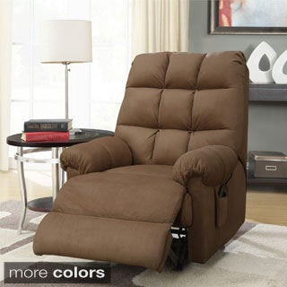 Microfiber Massage Rocker Recliner