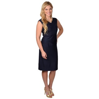 Jessica Howard Women's Sleeveless Sheath Dress