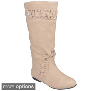 Journee Collection Women's 'Honesty' Round Toe Fashion Boots