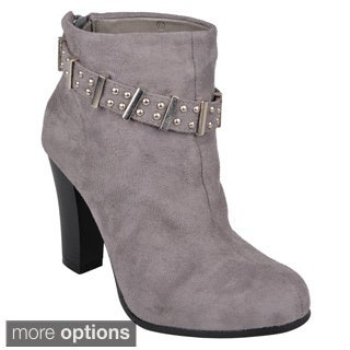 Journee Collection Women's 'Melody' High Heel Ankle Boots