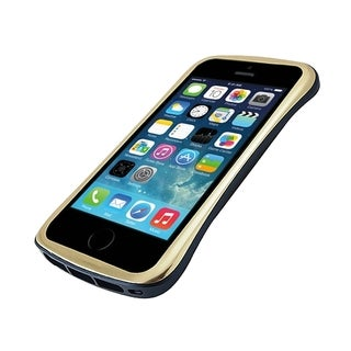 DRACO Gold/ Blue Elegance Aluminum Bumper Case for Apple iPhone 5/ 5S