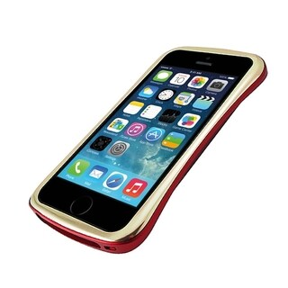 DRACO Gold/ Red Elegance Aluminum Bumper Case for Apple� iPhone 5/ 5S