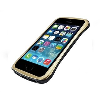 DRACO Gold/ Black Aluminum Bumper Case for Apple iPhone 5/ 5S