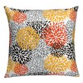 'Floral Spice' 20-inch Feather Down Throw Pillow