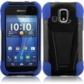 BasAcc Black/ Blue Case with Stand for Kyocera Hydro XTRM C6721