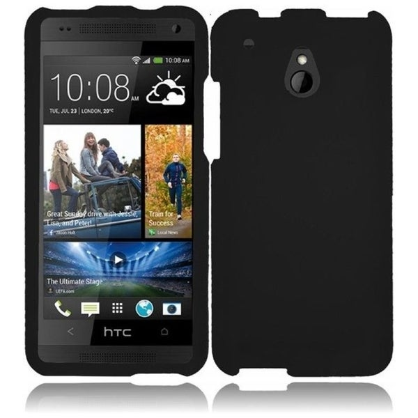INSTEN Black Phone Case Cover for HTC One Mini M4