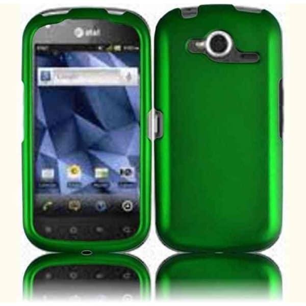 INSTEN Dark Green Phone Case Cover for Pantech Burst P9070
