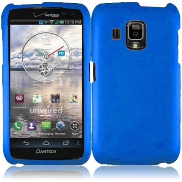 INSTEN Cool Blue Phone Case Cover for Pantech Perception ADR930L