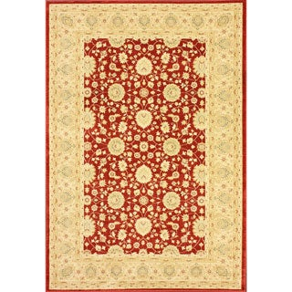 nuLOOM Traditional Ziegler Keshan Red Rug (5'3 x 7'7)