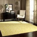 nuLOOM Handmade Transitional Lattice Wool Rug (7'6 x 9'6)