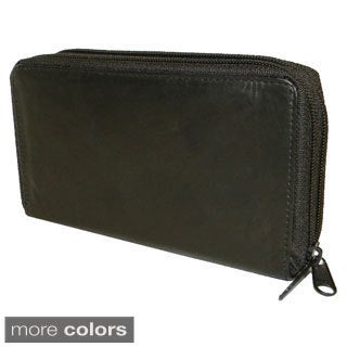 Hollywood Tag Women's Cowhide Leather Wallet